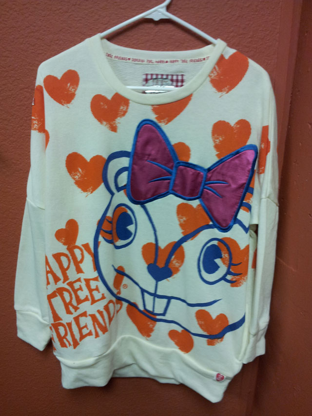 Happy Tree Friends Clothing