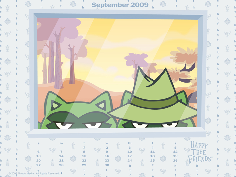 2009 september calendar. September 2009 Wallpaper